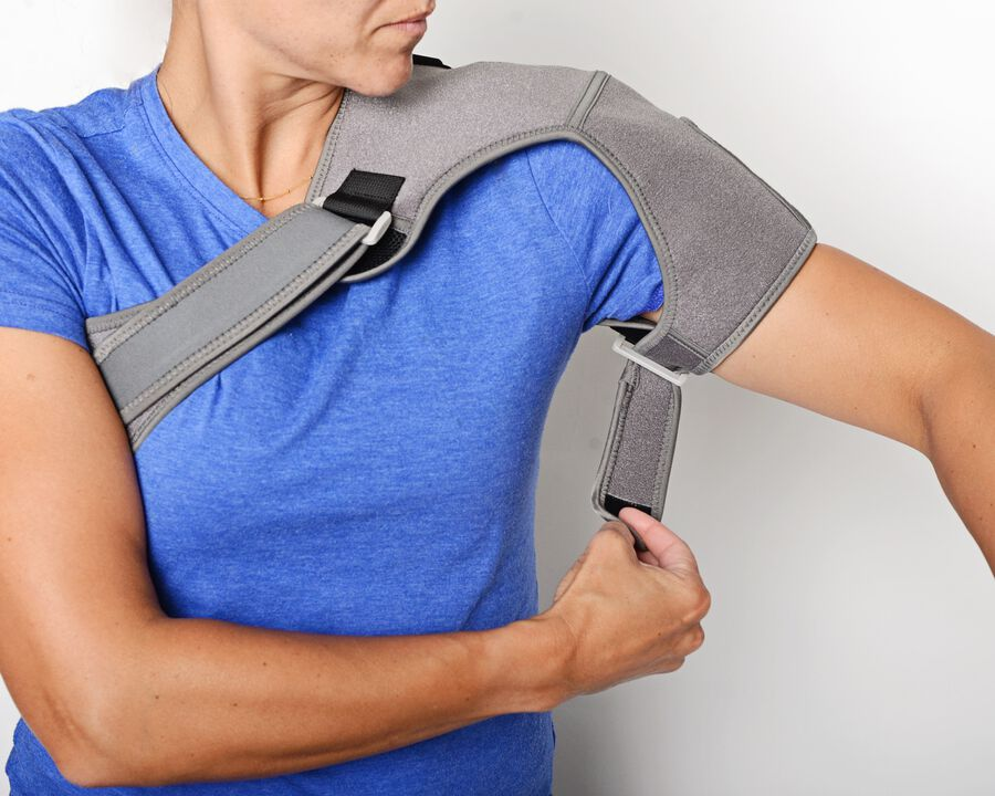 Battle Creek Embrace ™ Relief Shoulder Wrap – Portable, 3 Temperature Settings, Auto Shut Off, Wireless & Rechargeable Wrap, Battery-Operated Heat Therapy Wrap for Rotator Cuff and Shoulder Pain Relief, , large image number 11