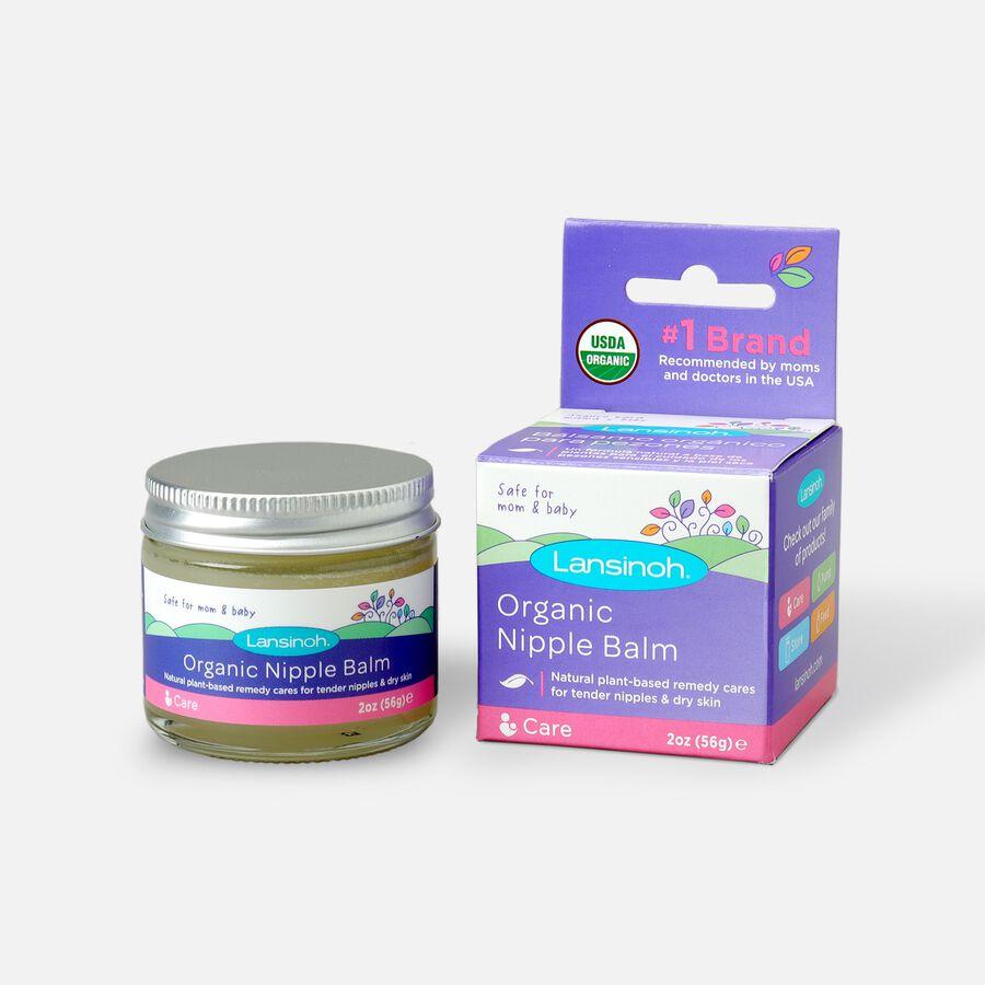 Lansinoh Organic Nipple Balm, 2 oz, , large image number 0