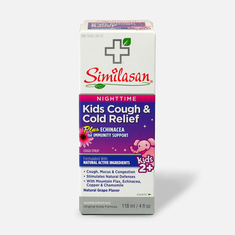 Similasan Kids Cough & Cold Relief, Nighttime Syrup, 4 fl. oz., , large image number 0