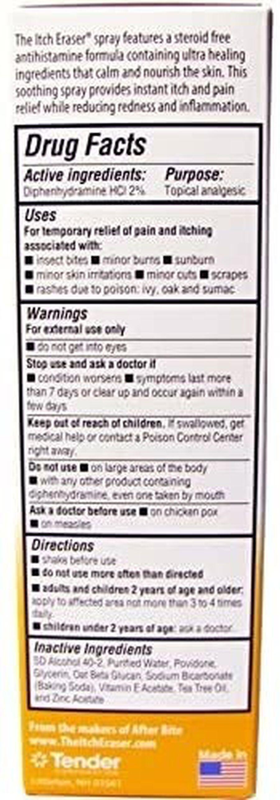Itch Eraser Spray, .95 oz, , large image number 2