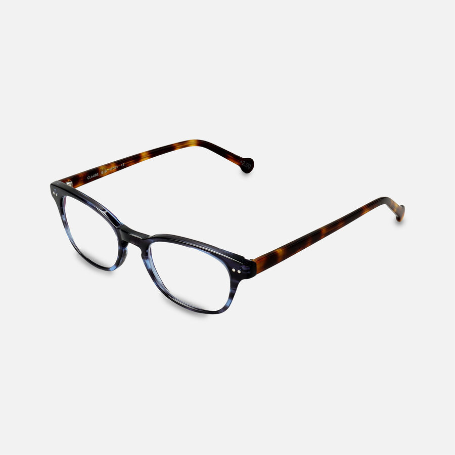 eyeOs Blue Claude Premium Reading Glasses, , large image number 5