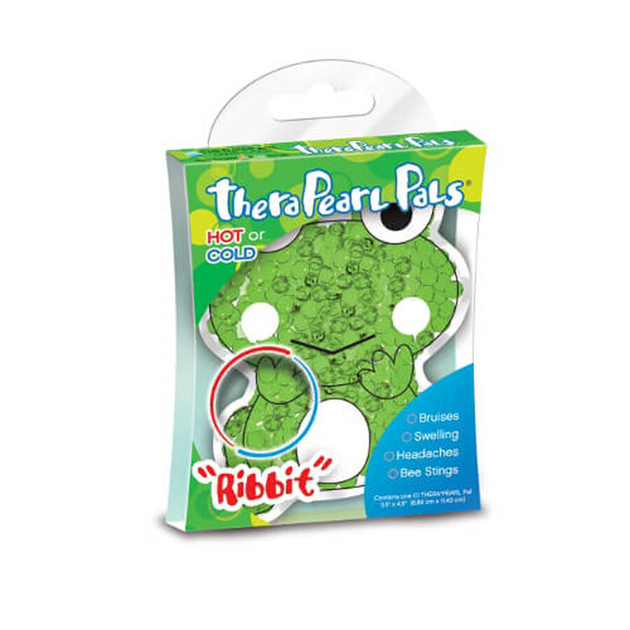 TheraPearl Pals Frog, 1 ea, , large image number 2