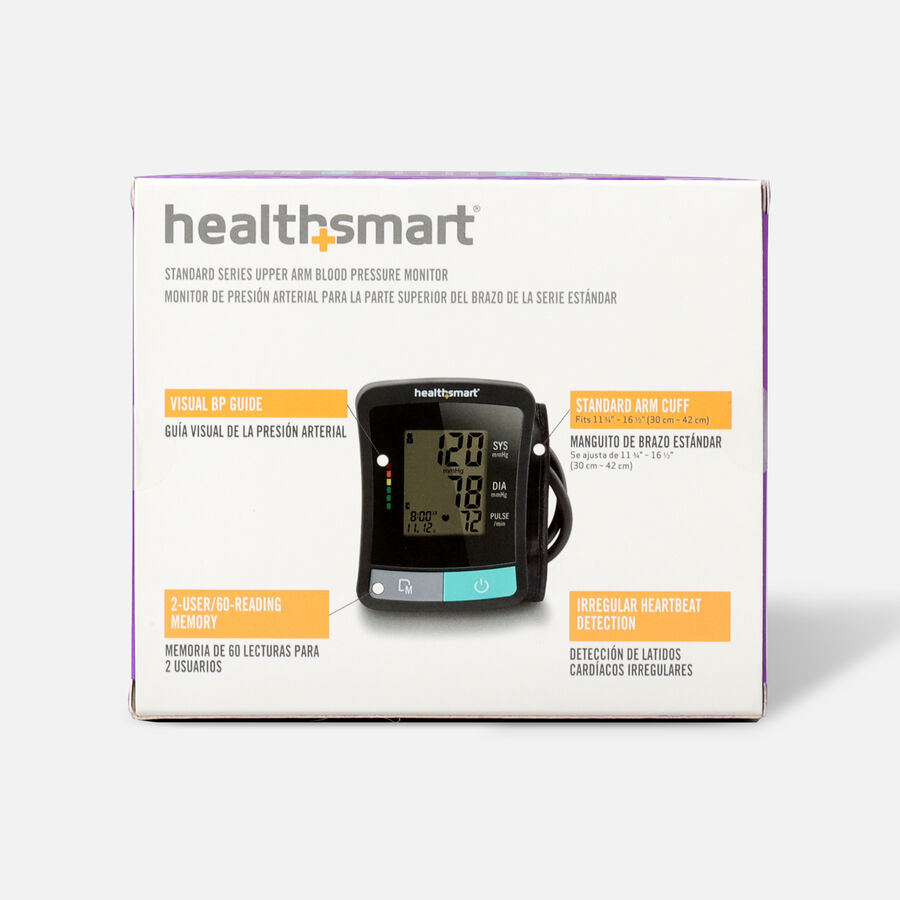 HealthSmart Standard Series LCD Digital Upper Arm Blood Pressure Monitor, , large image number 2