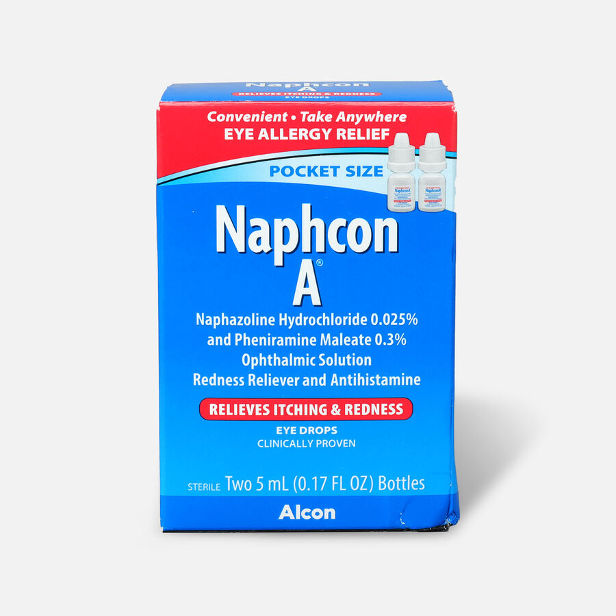 Naphcon-A Eye Drops Pocket Pack, Twin Pack, , large image number 0