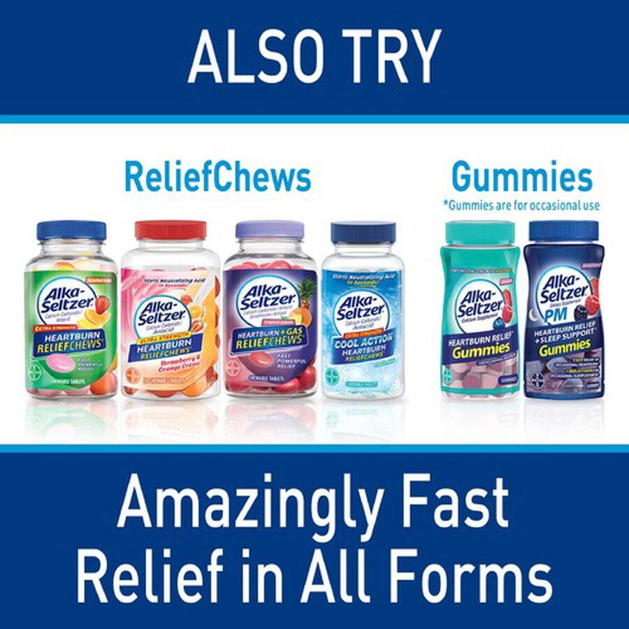Alka-Seltzer Heartburn Relief Gum, Peppermint, 16 count, , large image number 2