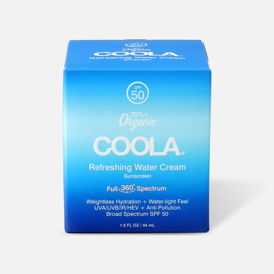 Coola Refreshing Water Cream Sunscreen SPF 50, 1.5oz, , large image number 1