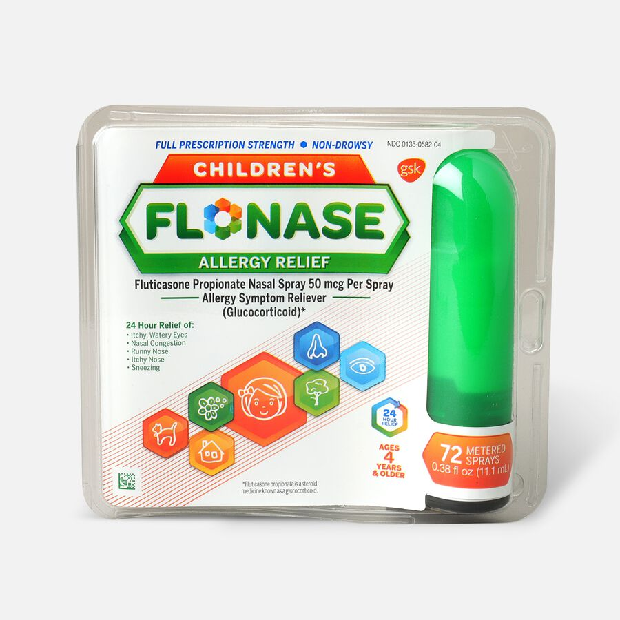 Flonase Children's Allergy Relief Nasal Spray, 72 ct, , large image number 0