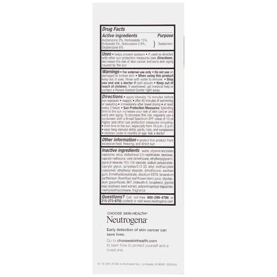 Neutrogena Age Shield Face Sunscreen with SPF 70, 3 oz, , large image number 1