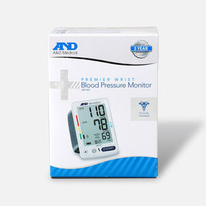 A&D Wrist Blood Pressure Monitor w/ Jumbo Screen