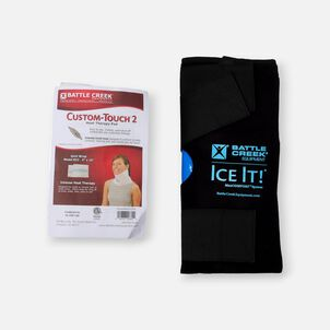 Battle Creek Knee Pain Kit 2.0  with Electric Moist Heat and Cold Therapy