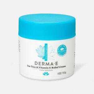 Derma E Tea Tree and Vitamin E Relief Cream, 4 oz