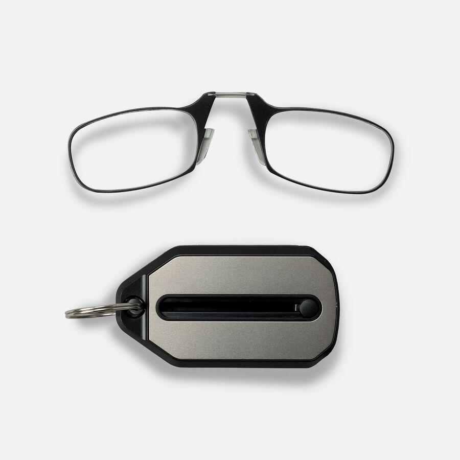 ThinOPTICS Keychain Reading Glasses, Black Frame, 2.50 Strength, , large image number 1