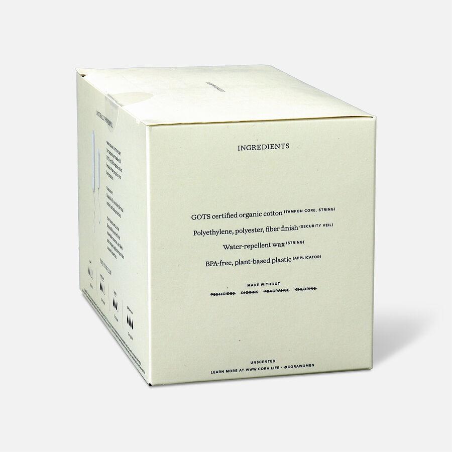 Cora Organic Cotton Applicator Tampons, 16 ct, , large image number 18
