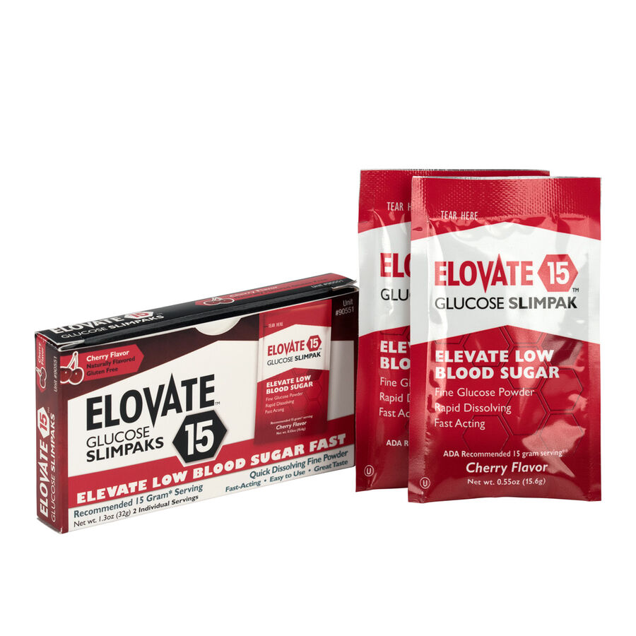 Elovate Glucose Packets, 2/box, , large image number 1
