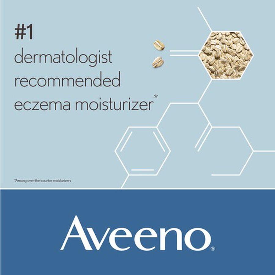 Aveeno Eczema Therapy Daily Moisturizing Cream, , large image number 3