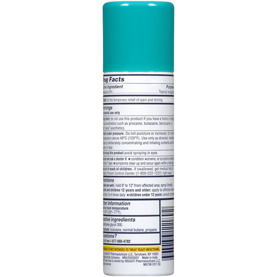 Monistat Instant Itch Relief Continuous Spray, Maximum Strength, 2 oz, , large image number 1