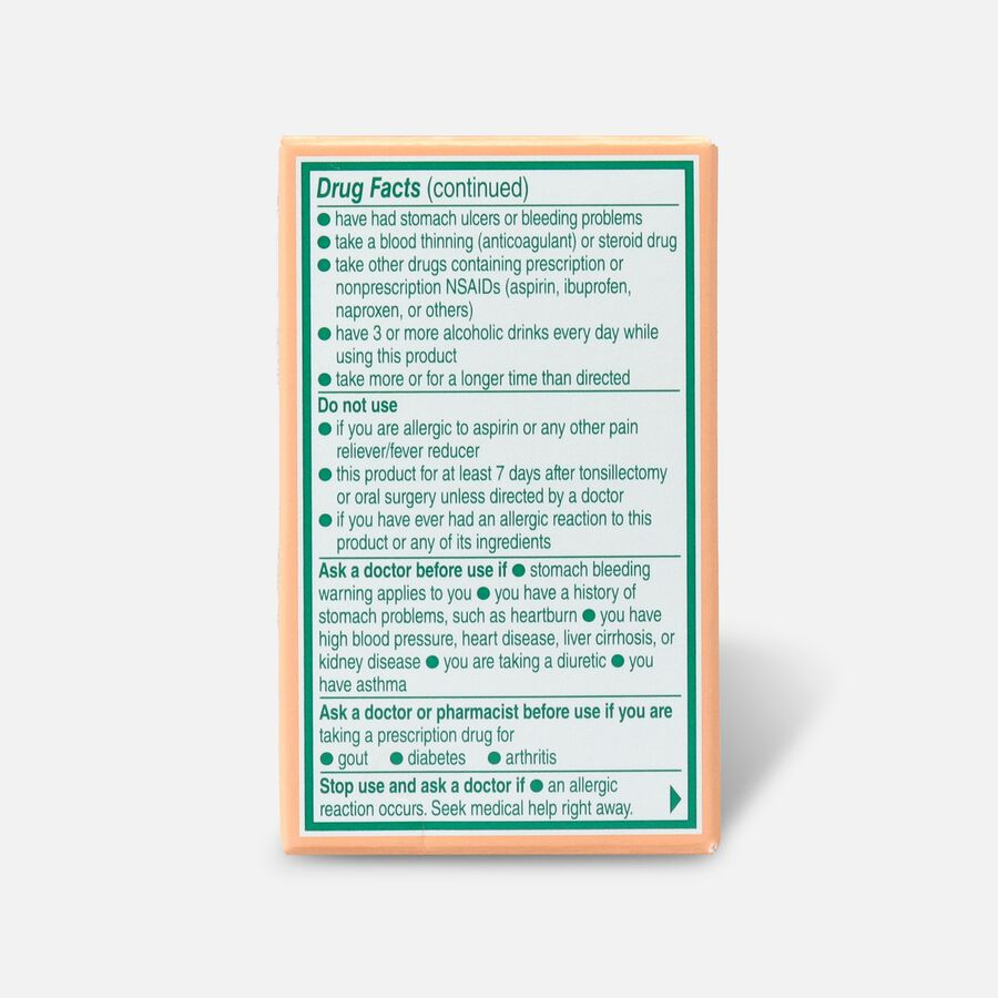 Bayer, Chewable Low Dose Aspirin, 81 mg Tablets, Orange, 36ct, , large image number 1