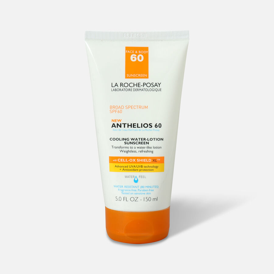 La Roche-Posay Anthelios Cooling Water Sunscreen Lotion, 5 fl oz, , large image number 0