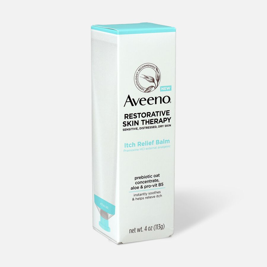 Aveeno Restorative Skin Therapy Itch Relief Balm, 4oz., , large image number 3