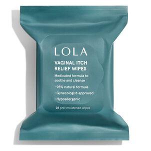 LOLA Anti-Itch Wipes, 12 ct