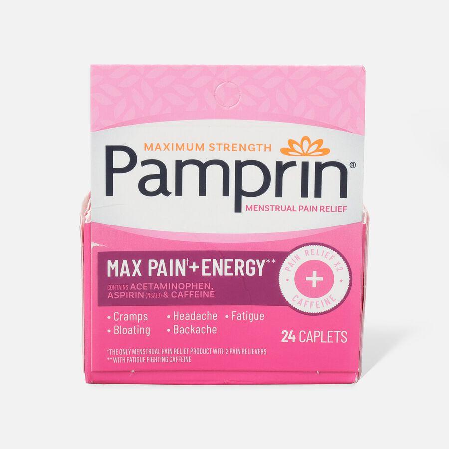 Pamprin Max Formula Caplets, 24 ct, , large image number 1