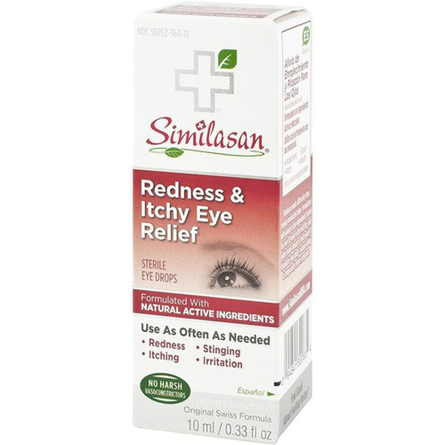 Similasan Redness & Itchy Eye Relief, 0.33 fl. oz., , large image number 3