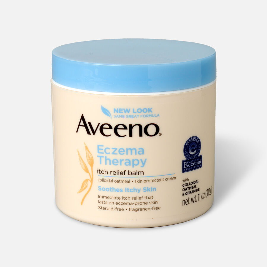 Aveeno Eczema Therapy Itch Relief Balm Jar, 11oz., , large image number 0