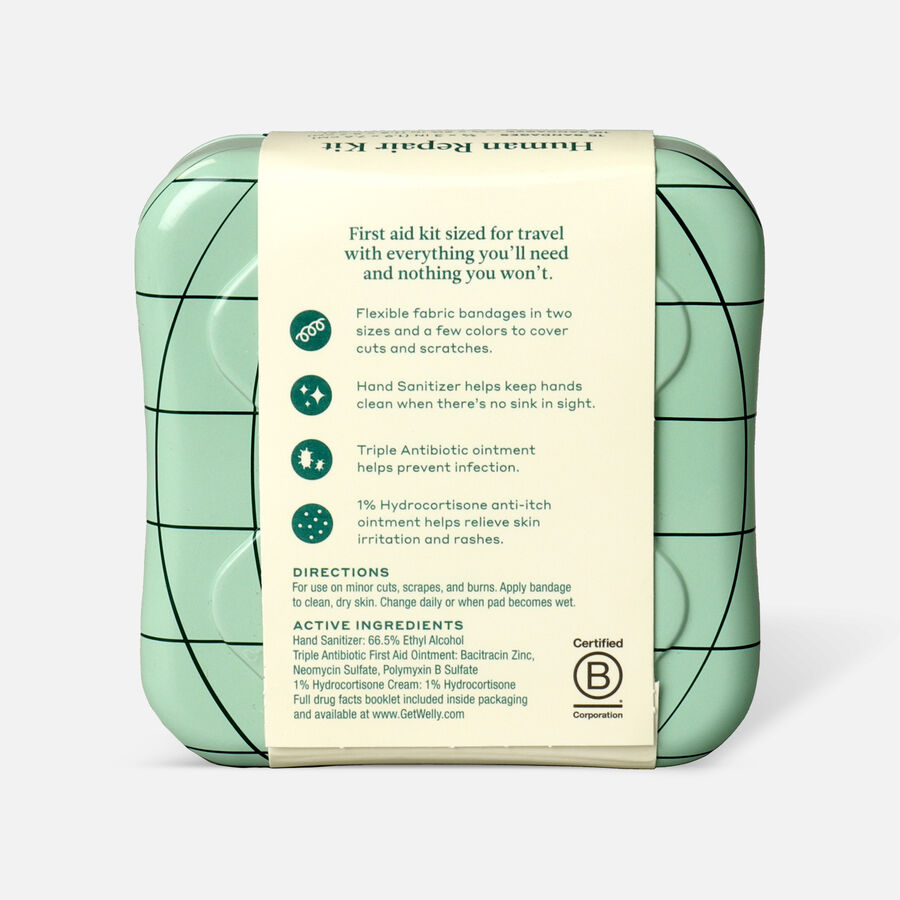 Welly Human Repair First Aid Travel Kit - 42ct, , large image number 1