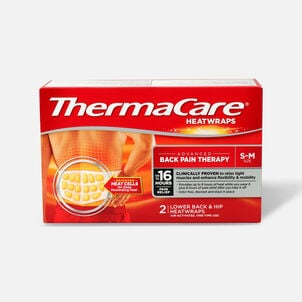 Thermacare Heat Wrap 8HR, Small/Medium, 2 ct