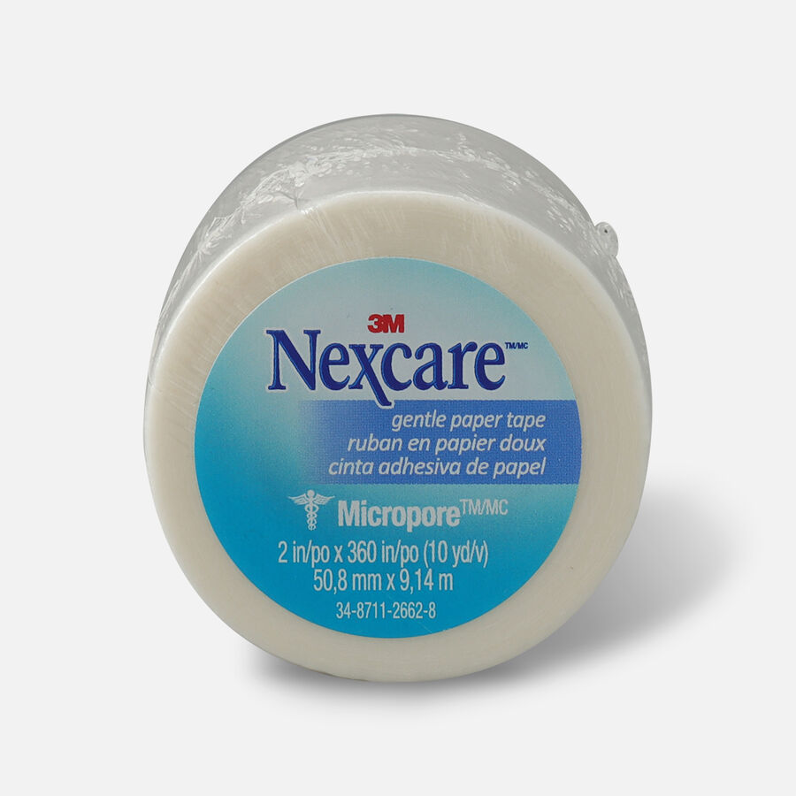 "Nexcare Gentle Paper Tape 2"" x 10 yds.- 1ct, , large image number 0"