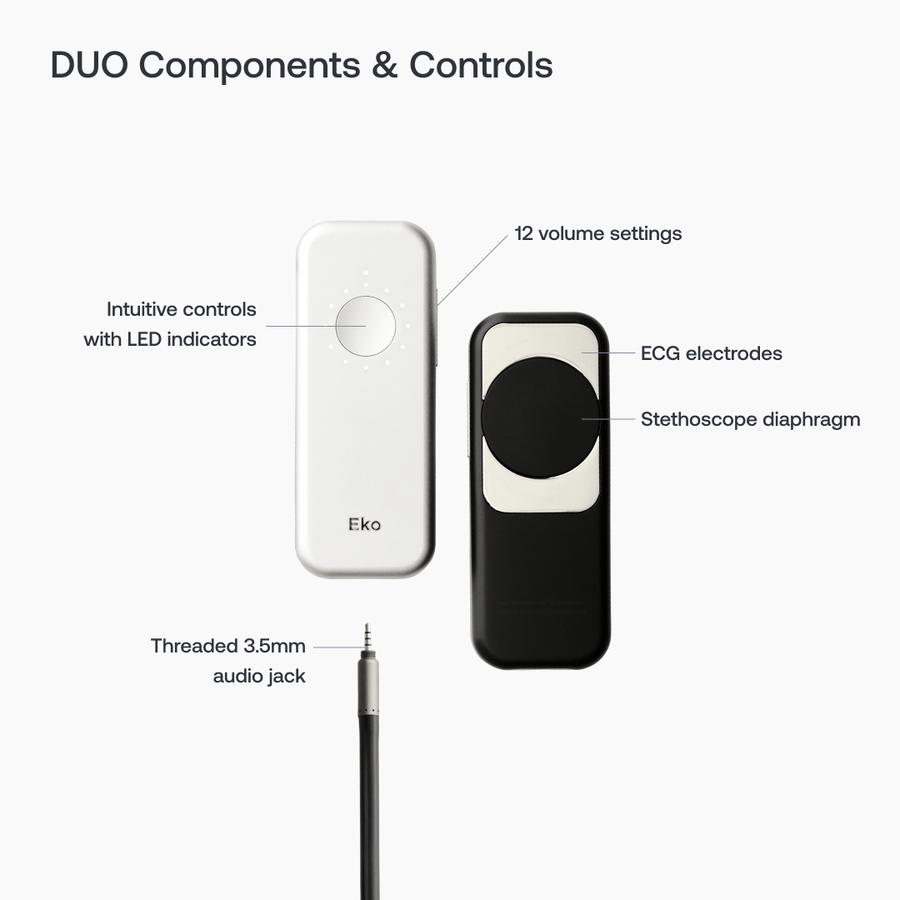Eko DUO ECG + Digital Stethoscope, , large image number 7