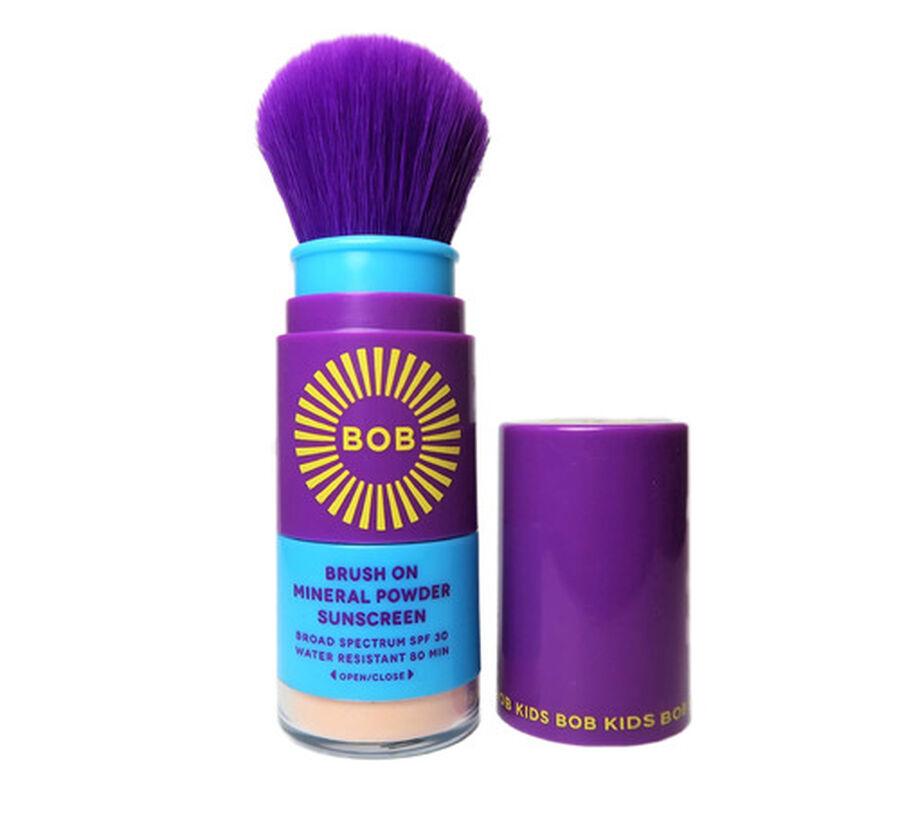 Brush on Block Kids Mineral Suncreen Powder, SPF 30, , large image number 3