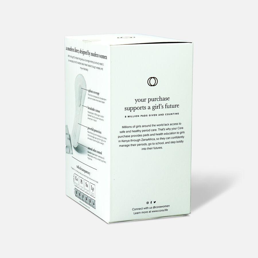 Cora Organic Cotton Bladder Liners, Super, 30ct, , large image number 3