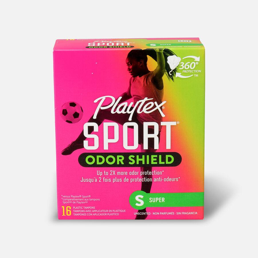 Playtex Sport Odor Shield Super Tampons, , large image number 0