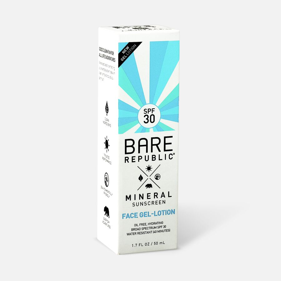 Bare Republic Mineral Gel Face Lotion SPF 30, 1.7 fl oz., , large image number 3
