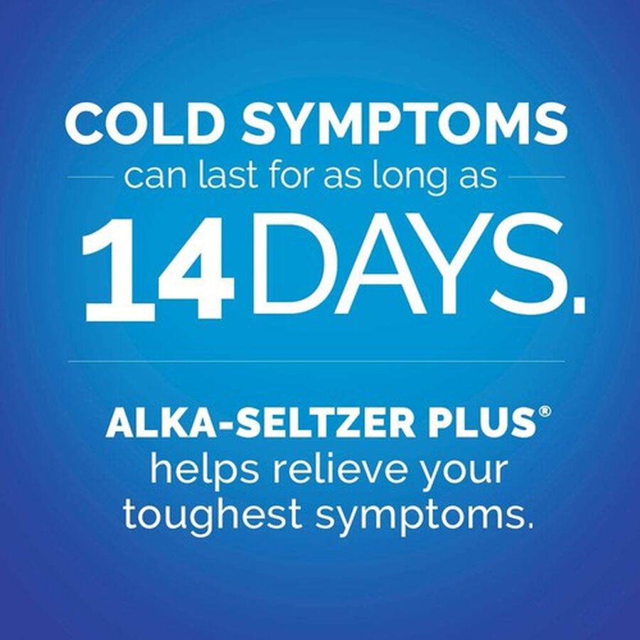 Alka-Seltzer Plus Severe Cold & Flu Powerfast Fizz Tablets, Citrus - 20 ct, , large image number 5