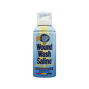 Wound Wash Saline, Simply Painless 0.9% - 3 Oz