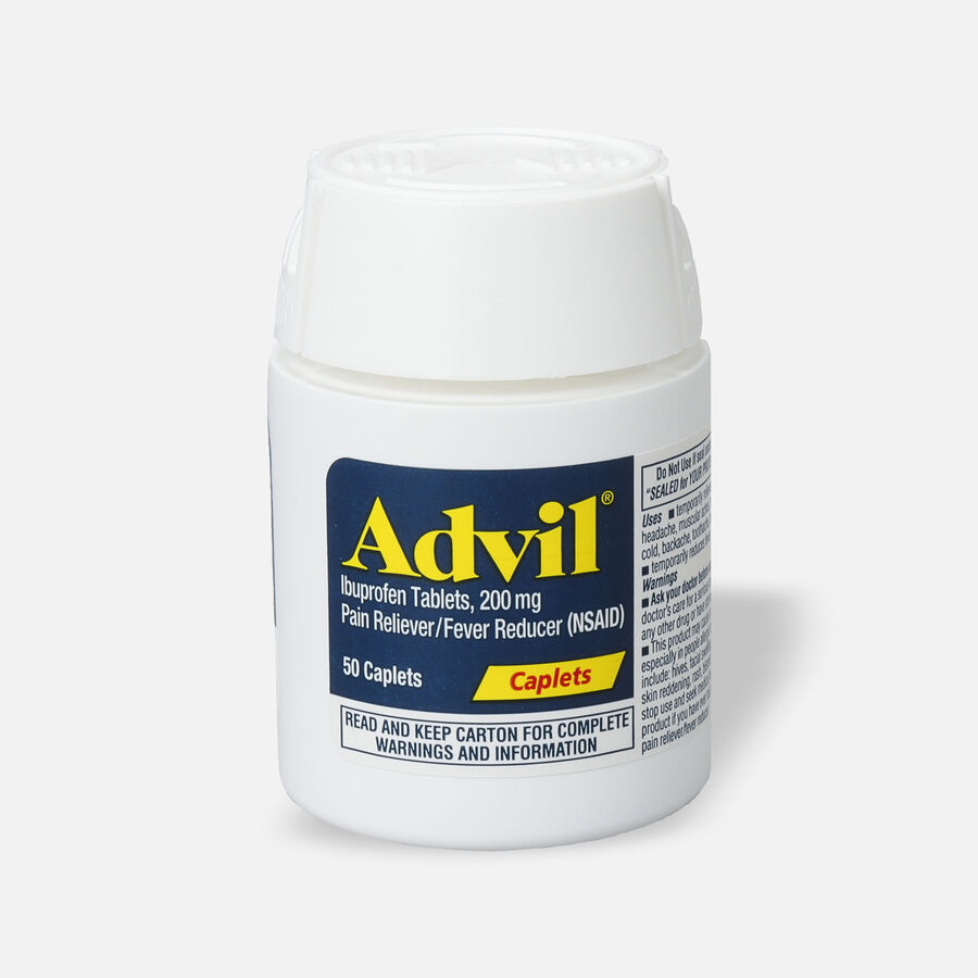 Advil Pain Reliever and Fever Reducer Coated Caplets, 200mg, , large image number 4