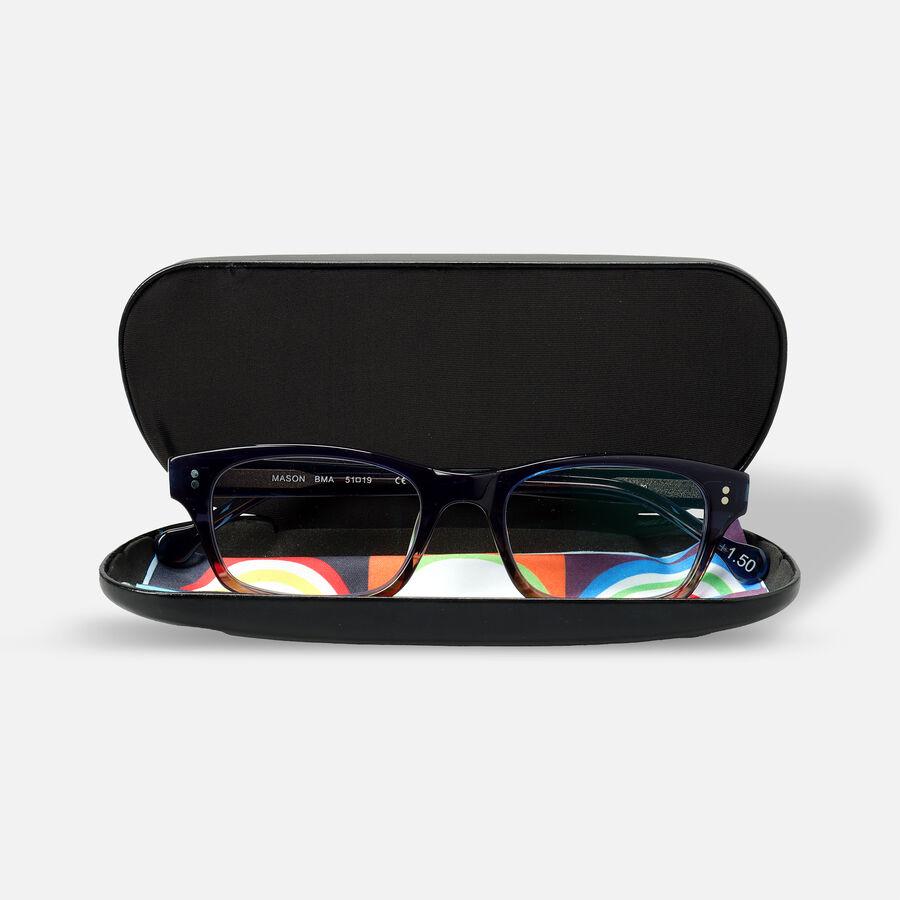 eyeOs Mason Blue Premium Reading Glasses, , large image number 3