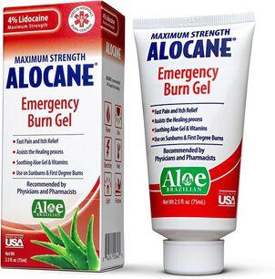 Alocane Maximum Strength Emergency Burn Gel, 2.5 oz