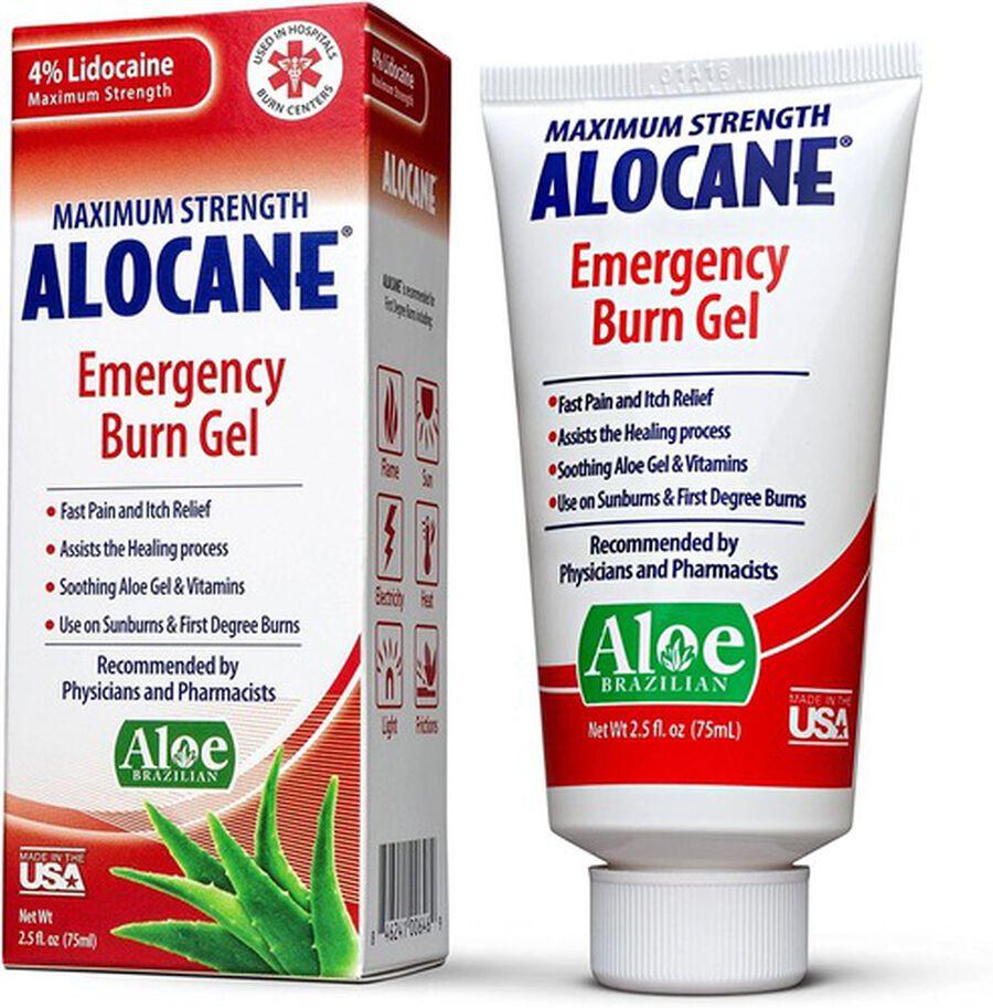 Alocane Maximum Strength Emergency Burn Gel, 2.5 oz, , large image number 0