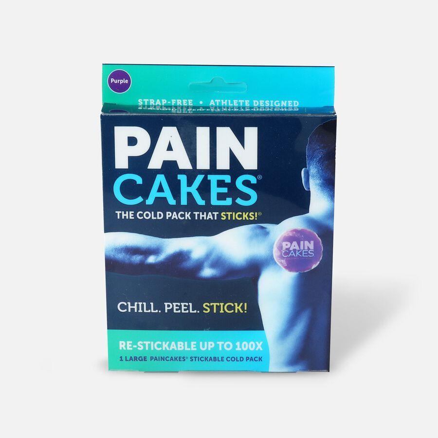 "PainCakes Stick & Stay Cold Packs, 5"", Purple, Purple, large image number 0"