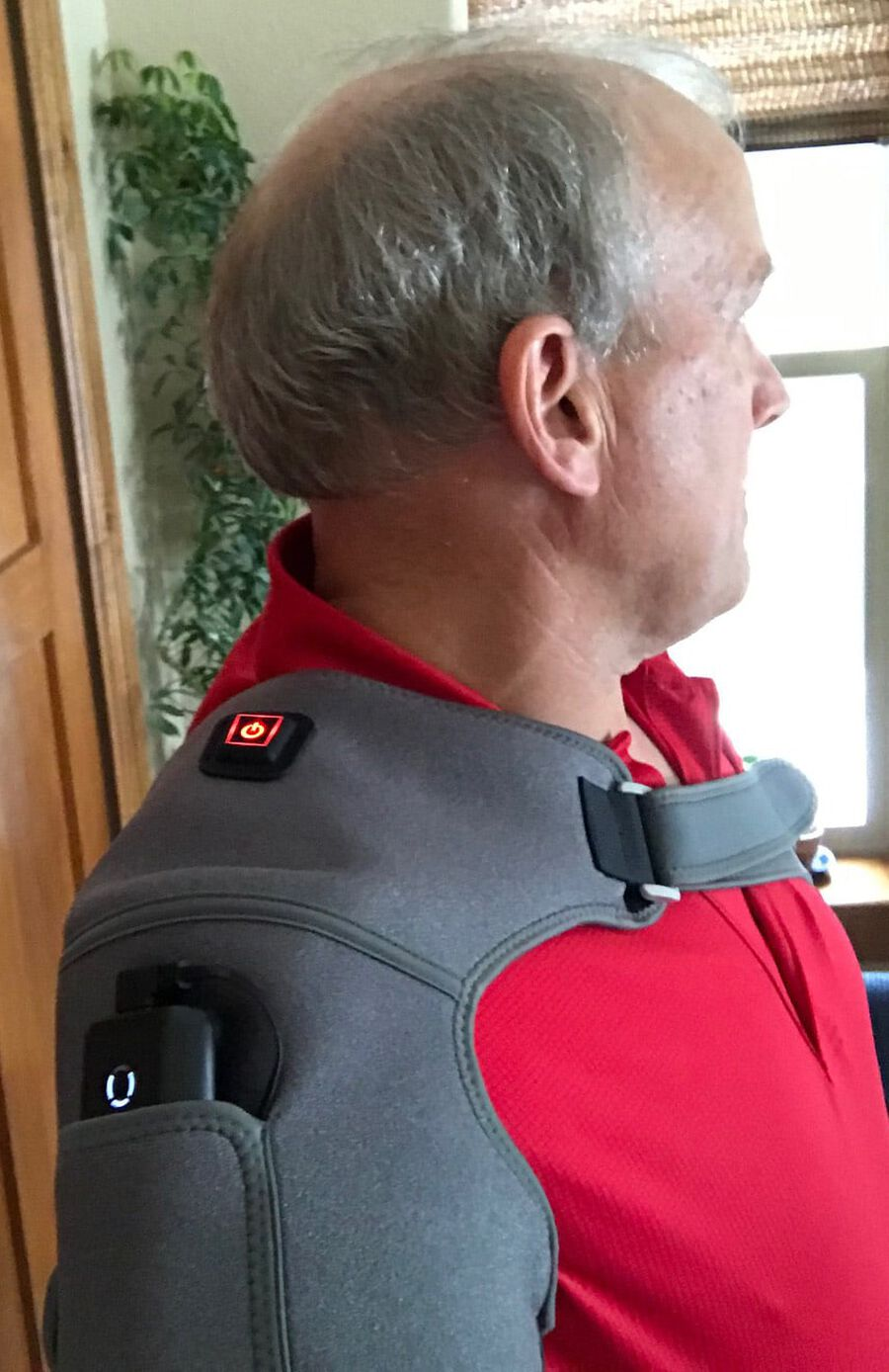 Battle Creek Embrace ™ Relief Shoulder Wrap – Portable, 3 Temperature Settings, Auto Shut Off, Wireless & Rechargeable Wrap, Battery-Operated Heat Therapy Wrap for Rotator Cuff and Shoulder Pain Relief, , large image number 28
