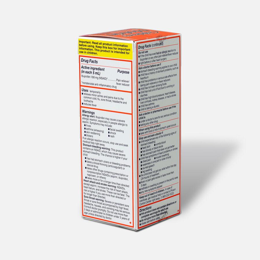 Children's Motrin Ibuprofen Oral Suspension, Fever Reducer/Pain Reliever, Berry Liquid, 4 fl oz, , large image number 2