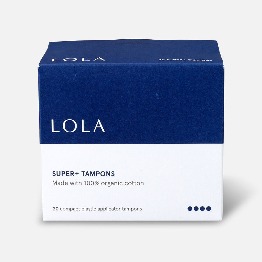LOLA Tampons, Compact Plastic Applicator, 20ct, , large image number 6