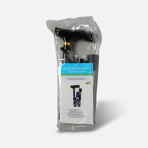 Invacare Adjustable Black Folding Cane, 1 ea