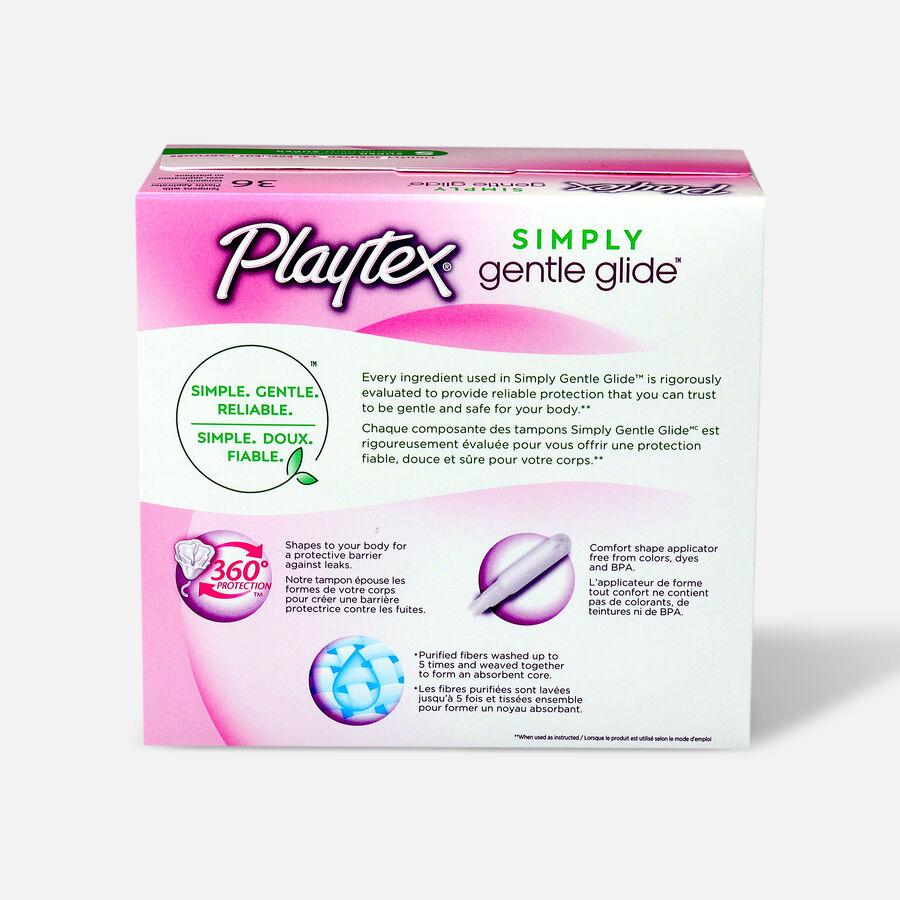 Playtex Gentle Glide Deodorant Regular Tampons, , large image number 5