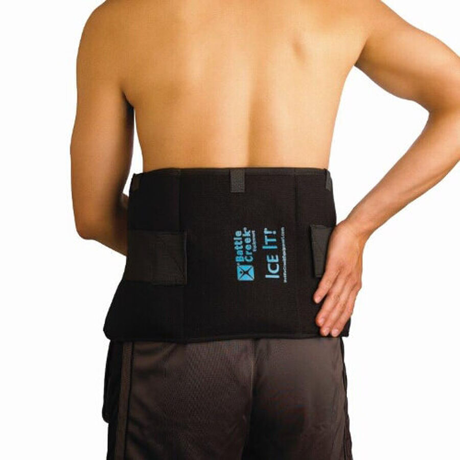 """Battle Creek Ice It! Deluxe Wrap With Cover & Strap, Model 550, 9"""" x 20"""", 1 ea, , large image number 3"""