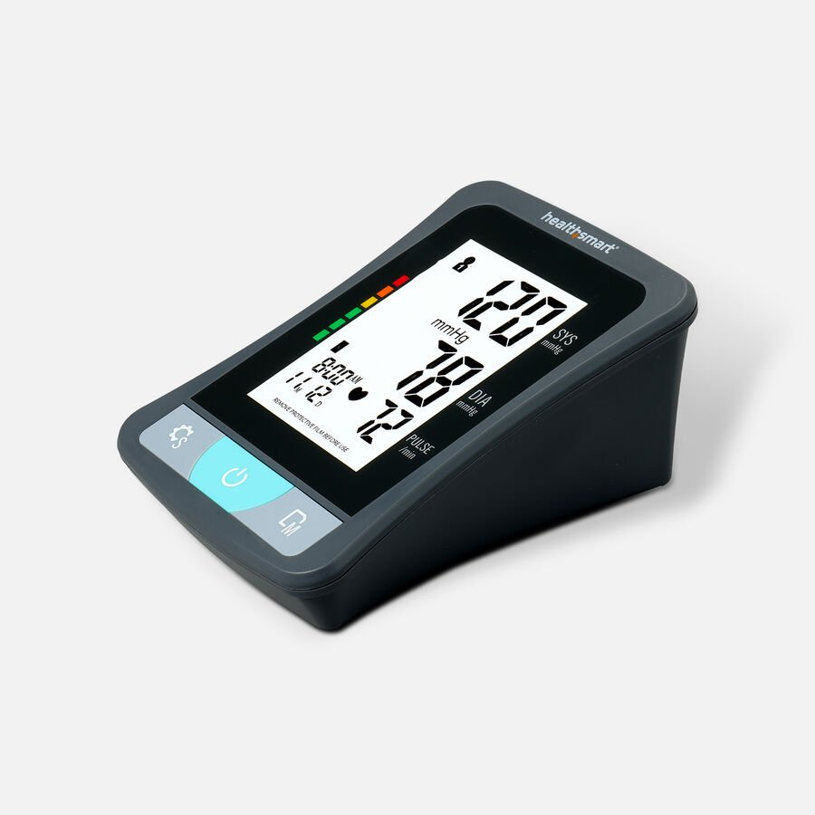 HealthSmart Upper Arm Blood Pressure Monitor with LCD Display, , large image number 4