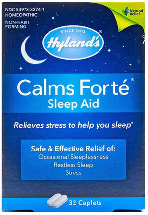 Hyland's Calms Forte Caplets, 32 ct